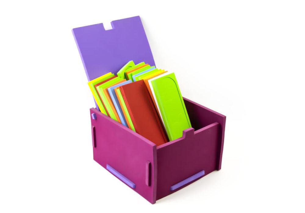 scatola con coperchio