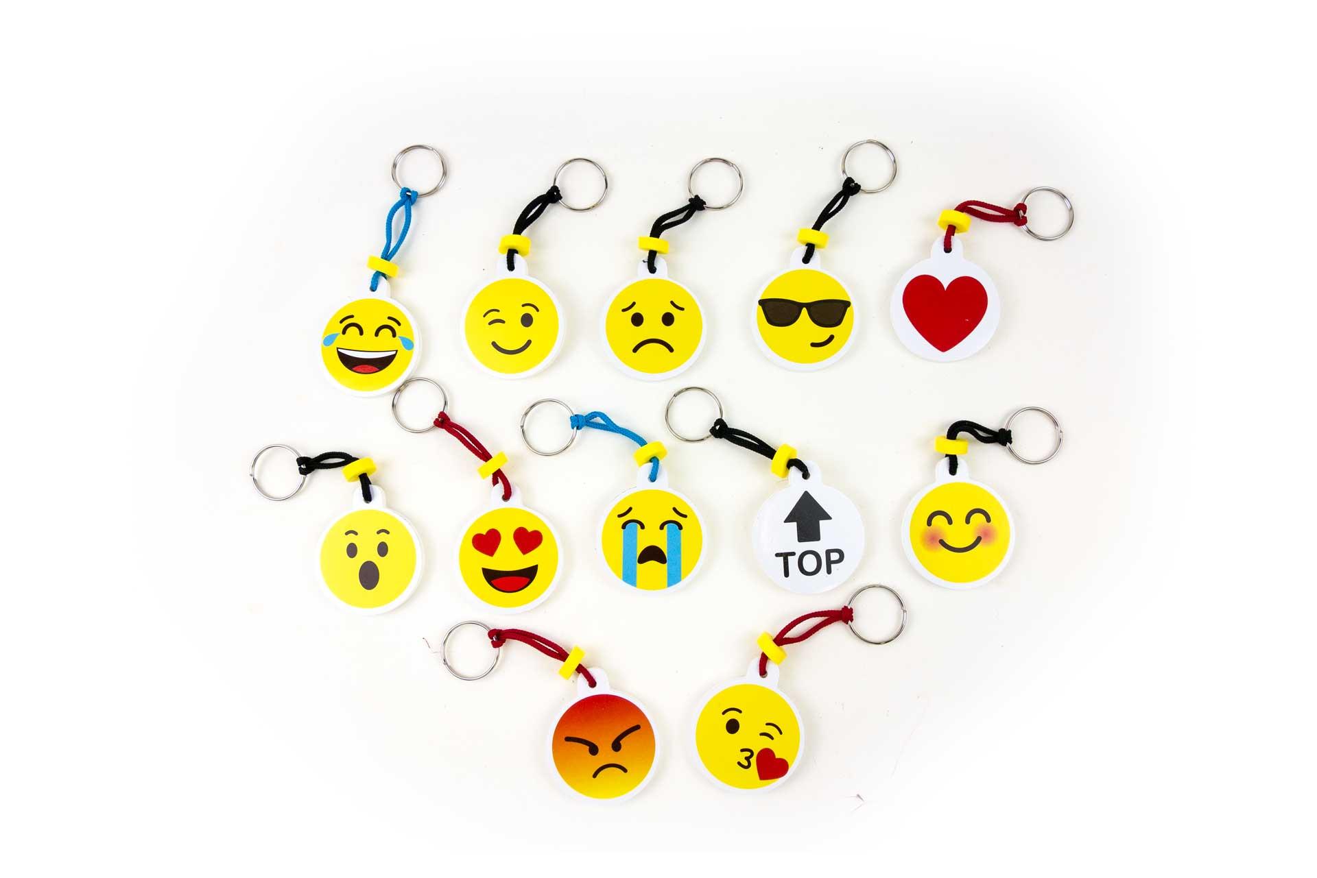 portachiavi emoticons